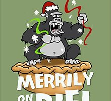 King Kong Merrily On Pie by DocHackenbush