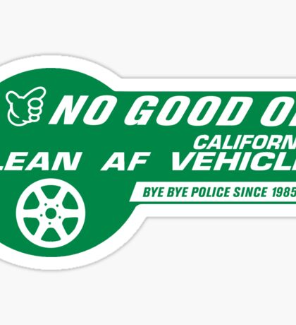 No Good Racing Clean Vehicle Decal Sticker