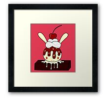 Brownie Bunny Framed Print