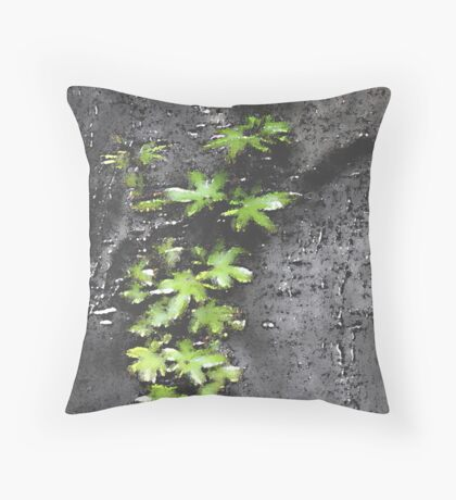 Watered Colour Throw Pillow