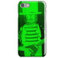 Guitarist Custom Minifigure with Guitar iPhone Case/Skin