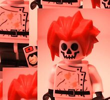 Professor Boom Custom Minifigure  by Chillee
