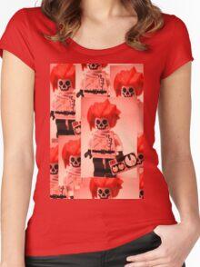 Professor Boom Custom Minifigure  Women's Fitted Scoop T-Shirt
