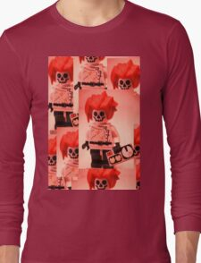 Professor Boom Custom Minifigure  Long Sleeve T-Shirt