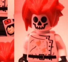 Professor Boom Custom Minifigure  Sticker