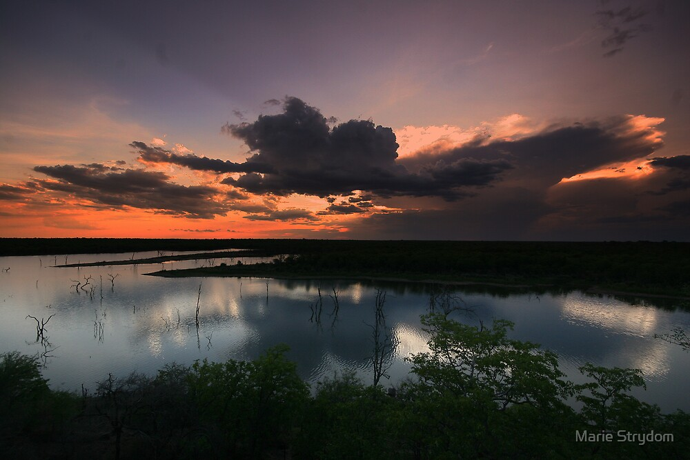 Mopani Sunset by Marie Strydom