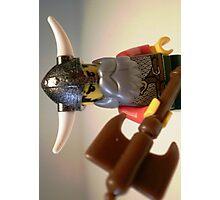 Viking Warrior with Custom Battle Axe Photographic Print