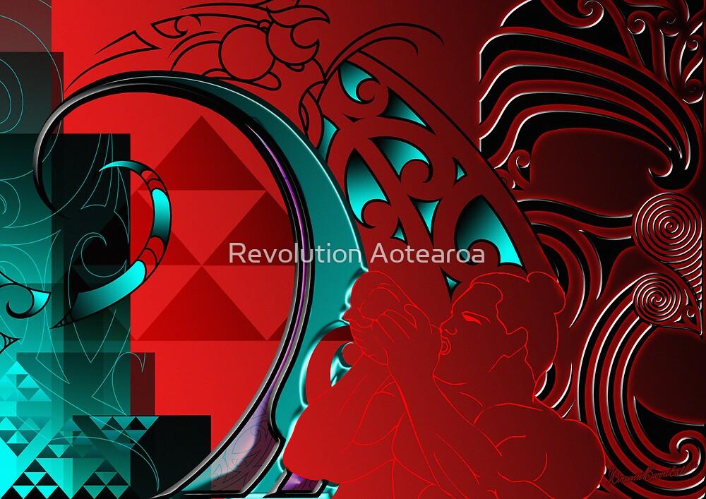 Te Timatanga - The Beginning by Revolution Aotearoa