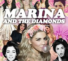 Marina and the Diamonds by sharkeeshka