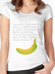 Time to learn you ABC's, or at least your B's  Women's Fitted Scoop T-Shirt
