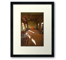 Podium Framed Print