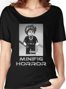 Minifig Horror - Evil Magician Custom Minifig Women's Relaxed Fit T-Shirt