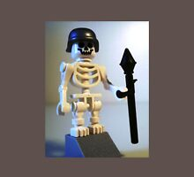 Skeleton Zombie Soldier with Custom Minifigure Helmet & Bazooka T-Shirt