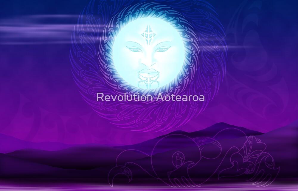 Marama - The Moon by Revolution Aotearoa