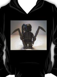 Custom Black Shadow Assassin Minifigure T-Shirt