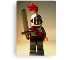 'Lion Knight Quarters' Minifigure  Canvas Print