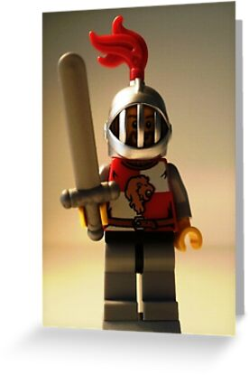 'Lion Knight Quarters' Minifigure  by Customize My Minifig