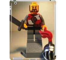 'Lion Knight Quarters' Minifig  iPad Case/Skin