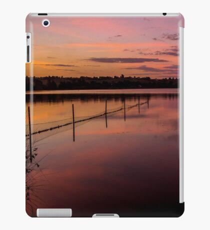 Lake Wallace sunsert iPad Case/Skin
