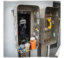 Private Public Telephone Poster