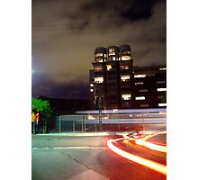 Silo apartments Newtown, Sydney Photographic Print
