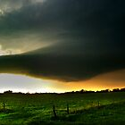 Oklahoma Mothership Supercell Thunderstorm by Brian Barnes StormChase.com