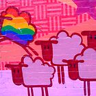 gay sheep by Cheryl Grover