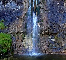 Hidden Waterfall at Cote Gill - Yorkshire Dales by Keiron Allen