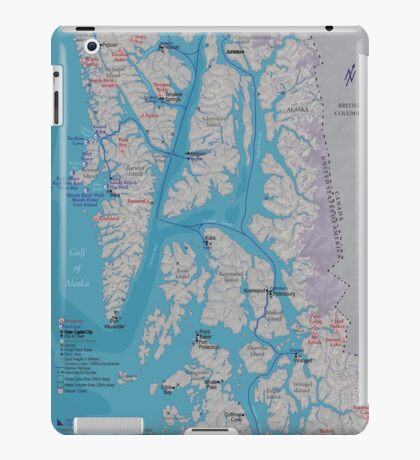 Surf & Soak Southeastern Alaska iPad Case/Skin