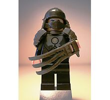 TMNT Teenage Mutant Ninja Turtles Master Shredder Custom Minifigure 'Customize My Minifig' Photographic Print