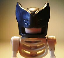 Egyptian God Anubis Skeleton Statue Custom Minifigure by Chillee