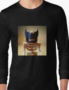 Egyptian God Anubis Skeleton Statue Custom Minifigure Long Sleeve T-Shirt