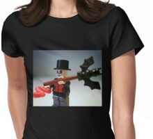 Voodoo Priest / Witch Doctor Zombie Custom Minifigure Womens Fitted T-Shirt