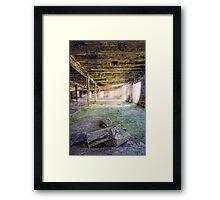 Alexian Rays Framed Print