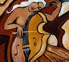 Cellist by galerievie