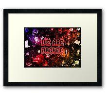 Jacked Retro Framed Print