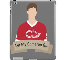 Let My Cameron Go iPad Case/Skin