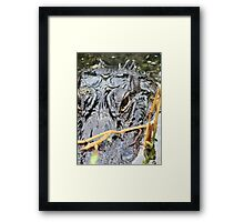 not fast enough! Framed Print