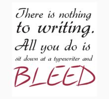 Nothing To Writing by Julia Gorst