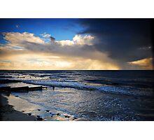 Rainy Sunset Photographic Print