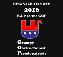 Register to Vote for 2016 -- Anti-GOP Unisex T-Shirt