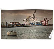 Fremantle Wharf, Western Australia Poster