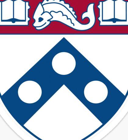 Penn Coat of Arms Sticker