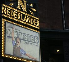 Newsies Marquee  by Lexie  Ramos
