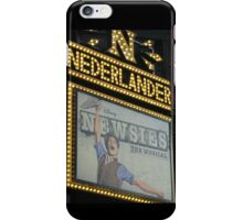 Newsies Marquee  iPhone Case/Skin