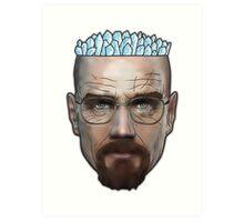 Breaking Bad - Walter White Meth Head Art Print