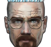 Breaking Bad - Walter White Meth Head by Patrick White