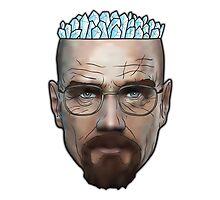 Breaking Bad - Walter White Meth Head Photographic Print