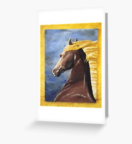 Wind Horse Greeting Card