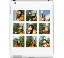 The Many Faces of Goofy iPad Case/Skin